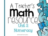 A Teacher's Math Resource Unit 2 Numeracy