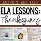 A Thanksgiving Reading unit: Common Core Standards and GPS