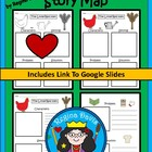 A+ The Little Red Hen: Story Maps