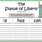 A+ The Statue of Liberty: Graphic Organizers