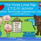 A+ The Three Little Pigs STEM Activity: Science, Technolog