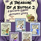 A Treasure Of A Bundle #2 : Five Activity Book Units For 2