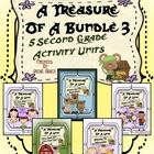 A Treasure Of A Bundle #3 : Five Activity Book Units For 2