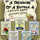 A Treasure Of A Bundle #4 : Five Activity Book Units For 2