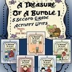 A Treasure Of A Bundle #1 : Five Activity Book Units For 2