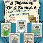 A Treasure Of A Bundle #6 : Five Activity Book Units For 2