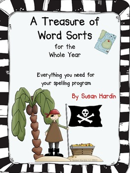 A Treasure of Word Sorts:  Spelling for the Whole Year