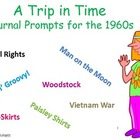 A Trip in Time: Journal Prompts for the 1960s