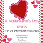 A Valentine's Day Pack - Science, Math, & Writing