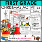 A Very Firstie Christmas {a Christmas Value Pack for First Grade}