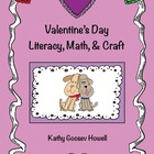 Valentine's Day Literacy, Math, & Craft