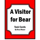 A Visitor for Bear Common Core Task Cards