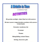 A WRINKLE IN TIME WHOLE BOOK ASSESSMENT AND EXTENSION ACTIVITIES