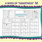 "A Week of ""Smartness"" -A  Week of Smartlessons – Letter Mm"