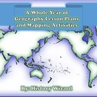 A Whole Year of Geography Lesson Plans and Mapping Activities