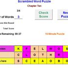 A Word Puzzle Review Activity - Classroom License  A Pinkl
