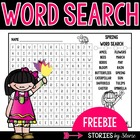 A Word Search for Spring (Freebie)