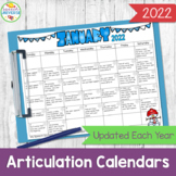 A Year of Articulation Calendars