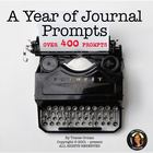 A Year of Journal Writing Prompts Common Core Standards