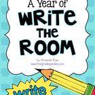 A Year of Write the Room {Literacy Centre}