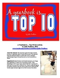 Yearbook Class Back to School Activity {A Yearbook is...}