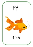 A-Z A4 Flash Cards/Wall Display