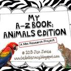 A-Z Book: Animals