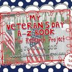 A-Z Book: Veteran&#039;s Day (Middle School Version)