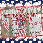 A-Z Book: Veteran&#039;s Day