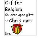 A-Z Christmas Around the World, Close Read and Logic Puzzle