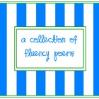 A collection of  fluency poems