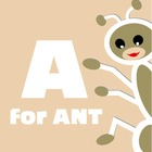A for Ant: Alphabet Book [paperback]