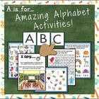A is for Amazing Alphabet Activities! Charts and Workbook