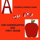 A is for Apple Phonics Alphabet Matching Game