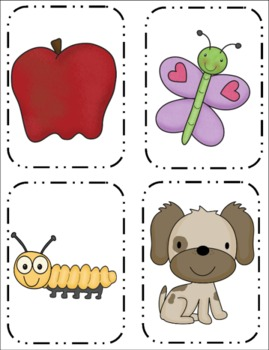 A to Z Introduction Pages and Activity Cards