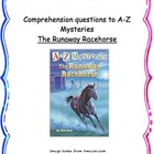 A to Z Mysteries: The Runaway Horse - comprehension questions