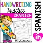 A to Z Writing Practice-Spanish
