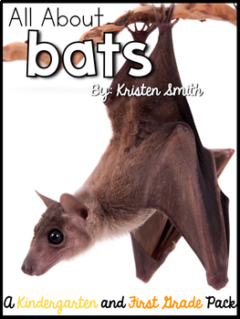 A week of Bats! -- Word Work, Vocabulary, Math Bins, Lesson Plans and more!!