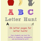 ABC Alphabet Letter Hunt
