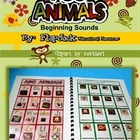 ABC Animals Beginning Sounds MagnetMat Fun