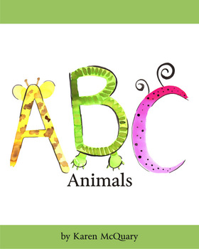 ABC Animals by Karen McQuary