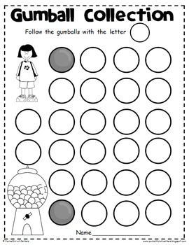 ABC Center Time Savers {Pre-K & Kdg}