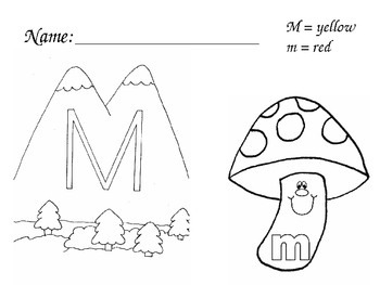 ABC Coloring Sheets