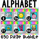 Alphabet Letter Of The Week A to Z BUNDLE {600 pages}