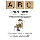 ABC Letter Find Freebie!