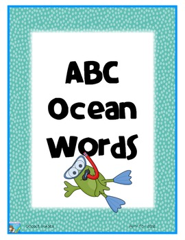 ABC Ocean Words