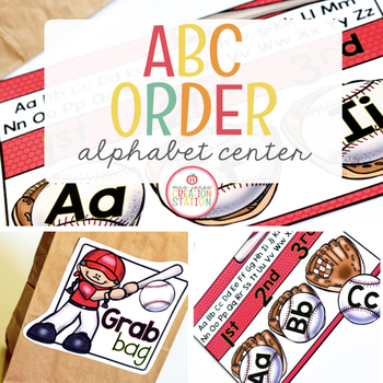ABC Order {Keywords} Literacy Center