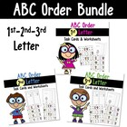 ABC Order- To The First, Second, and Third Letter