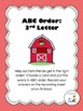 ABC Order (to the 3rd letter) 