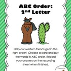 ABC Order (to the second letter)